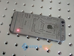Video of MOPA Fiber Laser Marker for Marking iPhone Covers