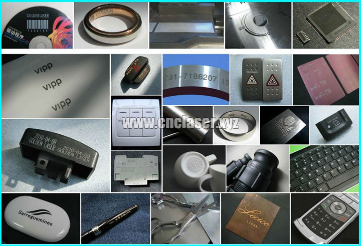 samples of laser engraving machine