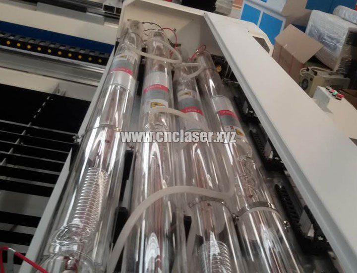 laser tube of 4 Heads Laser Cutting Machine