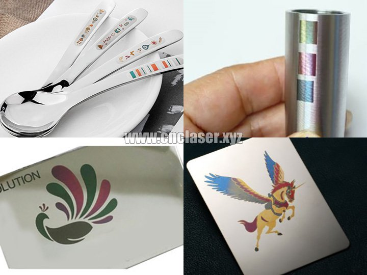 Samples of laser marking