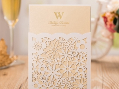 Paper laser cutting systems for greeting card