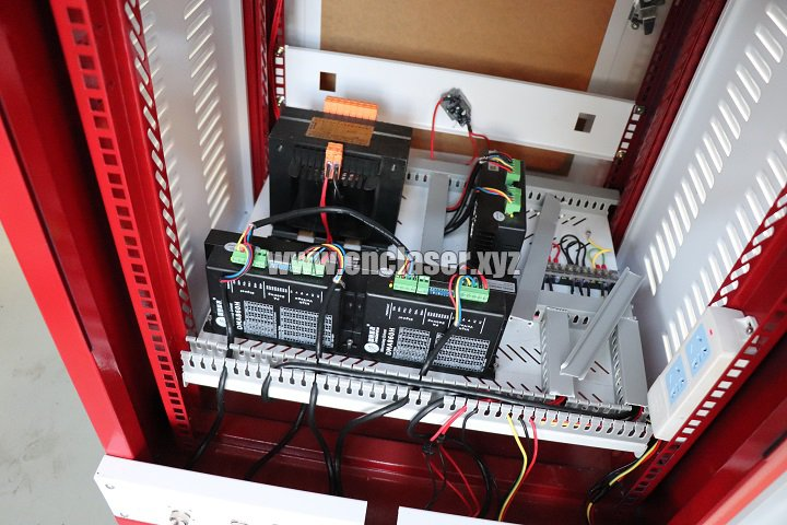 control box of fiber laser equipment