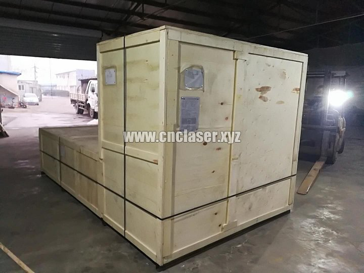 package of large fiber laser equipment