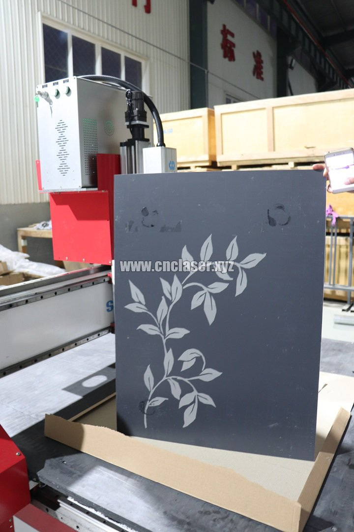 Samples of fiber laser marking equipment
