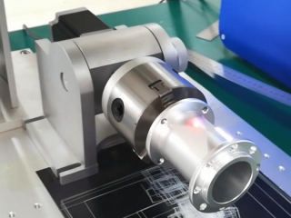 STYLECNC 3D laser machine for engraving metal with rotary device