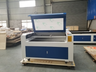 STYLECNC just finished new design CO2 laser engraver and cutter