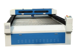4*8 feets mixed laser cutter system with 280w Yongli laser tube