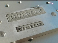 STYLECNC laser machine for deep engraving on aluminum